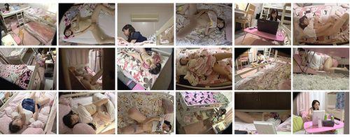 女子大生の部屋を盗撮オナニー中継
